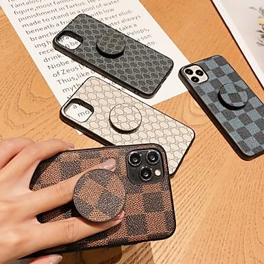 povoljno iPhone maske-Θήκη Za Apple iPhone 11 / iPhone 11 Pro / iPhone 11 Pro Max sa stalkom / Uzorak Stražnja maska Geometrijski uzorak TPU