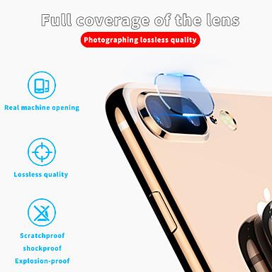 Недорогие Защитные плёнки для экрана iPhone-AppleScreen ProtectoriPhone 8 Pluss Зеркальная поверхность Протектор объектива камеры 1 ед. Nano