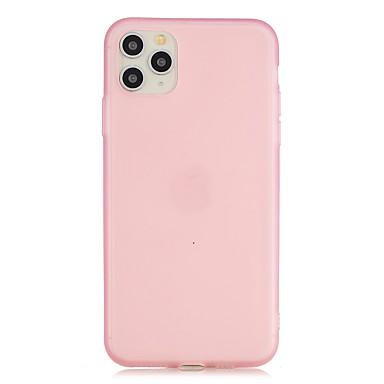 Недорогие Кейсы для iPhone 6 Plus-чехол для карты сцены яблока iphone 11 11 pro 11 pro max x xs xr xs max 8 сплошной цвет матовый полупрозрачный жидкий латекс материал тпу универсальный чехол для мобильного телефона wl