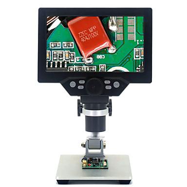povoljno Oprema za testiranje, mjerenje i inspekciju-7 inčni ekran 1-1200x digitalni mikroskop za lemljenje elektroničkih 500x 1000x mikroskopa kontinuirano pojačalo povećalo