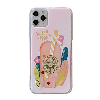 Недорогие Кейсы для iPhone 6 Plus-чехол для яблока iphone 11 / iphone 11 pro / iphone 11 pro max свечение в темноте / рисунок с задней обложкой мультяшный тпу для iphone x xs xr xs max 8 8plus 7 7plus 6 6plus 6s 6s plus