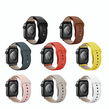 Недорогие Ремешки для Apple Watch-ремешок для часов для Apple Watch серии 4 / Apple смотреть серии 3 / Apple смотреть серии 2 яблоко кожаный ремешок из натуральной кожи ремешок