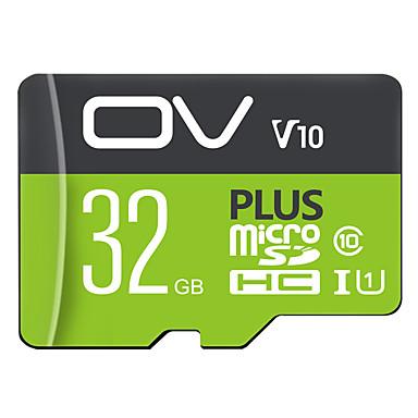お買い得  メモリカード-ov plus uhs-i u1 u3 32GB 64GB 128GB 256GBクラス10高速データストレージtfカードフラッシュメモリカード