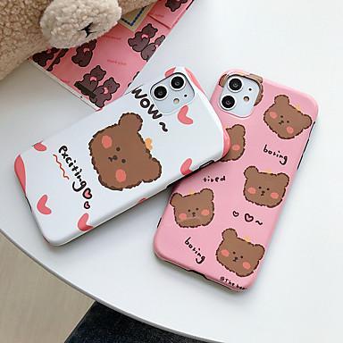 Недорогие Кейсы для iPhone 6-чехол для яблока карта сцены iphone 11 11 pro 11 pro max x xs xr xs max 8 мультфильм рисунок медведя яркий материал тпу imd процесс все включено чехол для мобильного телефона ckf