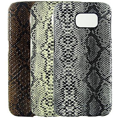 Недорогие Чехлы и кейсы для Galaxy S-Кейс для Назначение SSamsung Galaxy S6 edge / S6 / S4 IMD / С узором Кейс на заднюю панель Однотонный / Животное Кожа PU / ПК