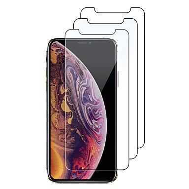 Недорогие Защитные пленки для iPhone SE/5s/5c/5-3 пакета из закаленного стекла Защитная пленка для экрана для iphone x iphone xs iphone xs max xr 11 pro max 5 6 s 7 8 plus