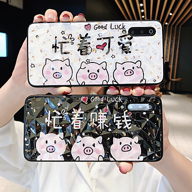 Недорогие Чехлы и кейсы для Xiaomi-Кейс для Назначение Xiaomi Redmi Note 5A / Xiaomi Redmi 6 Pro / Xiaomi Redmi Note 7 Защита от удара Кейс на заднюю панель Слова / выражения / Животное / Мультипликация ПК