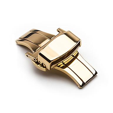 levne Příslušenství k hodinkám-/ / Nerez Watch kapela Popruh pro Stříbro / Zlatá / Růžová Ostatní 1cm / 0.39 palce