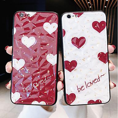 Недорогие Кейсы для iPhone 7 Plus-Кейс для Назначение Apple iPhone 11 / iPhone XS / iPhone XR Защита от удара Кейс на заднюю панель Слова / выражения / С сердцем ПК