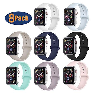 povoljno Apple Watch remeni-Pogledajte Band za Apple Watch Series 4 / Apple Watch Series 3 / Apple Watch Series 2 Apple Sportski remen Silikon Traka za ruku