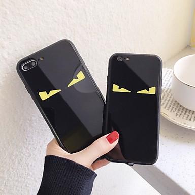 Недорогие Кейсы для iPhone X-забавный чехол для яблока iphone 11 / iphone 11 pro / iphone 11 pro max ударопрочный / пыленепроницаемый / светодиодная вспышка освещения задняя крышка шаблон мягкий тпу