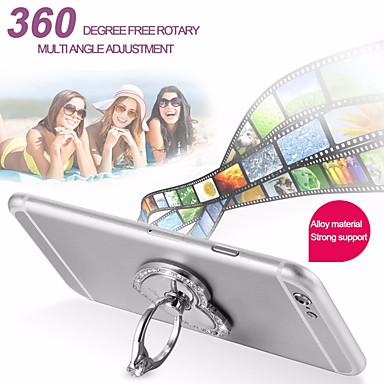 Недорогие Аксессуары для мобильных телефонов-настольный держатель подставка держатель кольца держатель 360 вращение металлический держатель