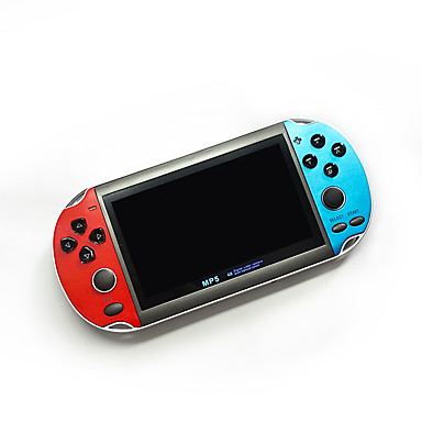 economico Console per videogiochi-LITBest X7 Plus Music Rechargeable Double Rocker Handheld Portable Game Console di gioco Costruito dentro 1 pcs Giochi 4.3 pollice pollice OTG