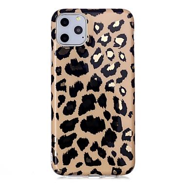 Недорогие Кейсы для iPhone 7 Plus-леопардовый чехол для яблока iphone 11 / iphone 11 pro / iphone 11 pro max ударопрочный / пыленепроницаемый / ультратонкая задняя крышка мягкого тпу