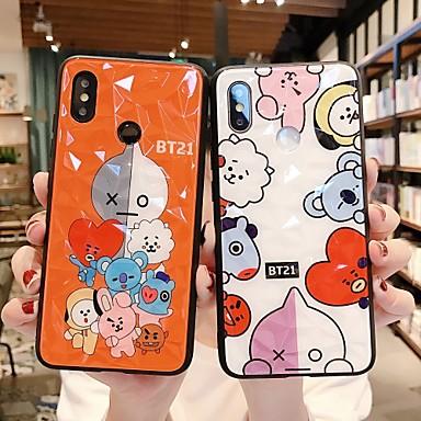 Недорогие Чехлы и кейсы для Xiaomi-Кейс для Назначение Xiaomi Redmi Note 5A / Xiaomi Redmi 6 Pro / Xiaomi Redmi Note 7 Защита от удара / Защита от пыли / С узором Кейс на заднюю панель Животное / Мультипликация ПК