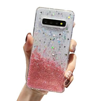 Недорогие Чехлы и кейсы для Galaxy Note-чехол для samsung карта сцены samsung galaxy s20 s20 ultra s20 plus s10 s10 plus новый блеск рисунок капельного клея процесс утолщенной тпу все включено оболочка мобильного телефона