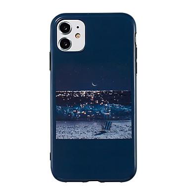 Недорогие Кейсы для iPhone 7 Plus-чехол для карты сцены яблока iphone 11 11 pro 11 pro max x xs xr xs max 8 натуральный пейзажный узор яркий материал тпу imd процесс все включено мобильный телефон чехол ckf