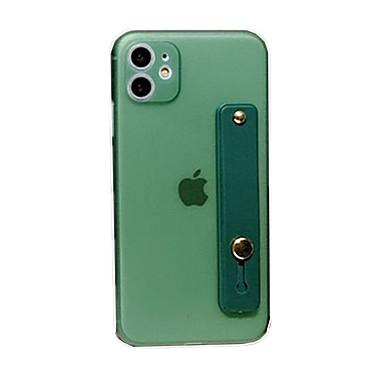Недорогие Кейсы для iPhone 7 Plus-чехол для карты яблока сцены iphone 11 x xs xr xs макс 8 чистый цвет матовый тпу материал все включено подставка чехол для телефона