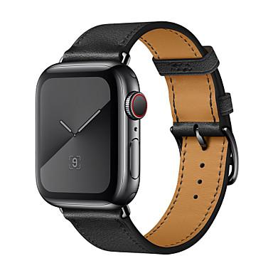 povoljno Apple Watch remeni-Pogledajte Band za Apple Watch Series 4 / Apple Watch Series 3 / Apple Watch Series 2 Apple Kožni remen Prava koža Traka za ruku