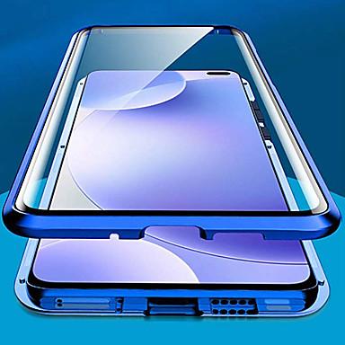Недорогие Чехлы и кейсы для Xiaomi-двухсторонний стеклянный металлический магнитный чехол для телефона для xiaomi redmi k30 cc9 pro note 10 note 10 pro