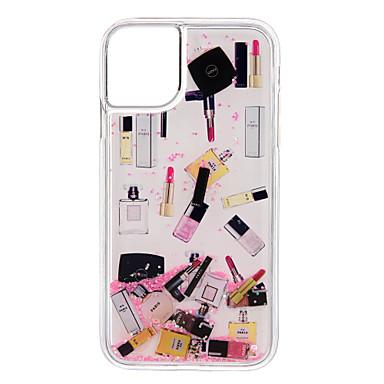 Недорогие Кейсы для iPhone 6-Кейс для Назначение Apple iPhone 11 / iPhone 11 Pro / iPhone 11 Pro Max Защита от удара / Движущаяся жидкость Кейс на заднюю панель Прозрачный ТПУ