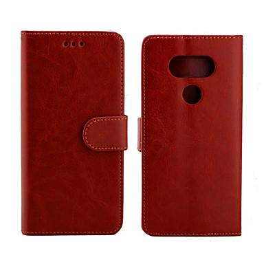 Недорогие Чехлы и кейсы для LG-чехол для LG v50 thinq / LG Stylo 5 / LG G6 Palace Flower PU кожа с слотом для карт откидной вверх и вниз для Q60 G4C V50 Stylo 5
