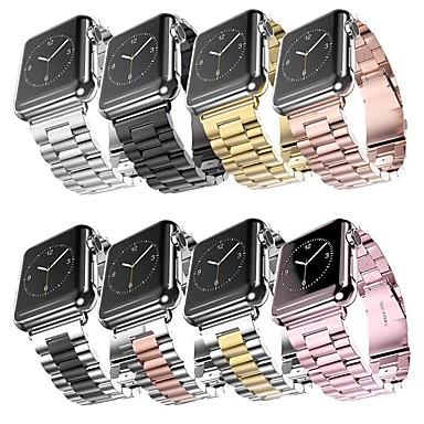 Недорогие Аксессуары для смарт-часов-умный ремешок для часов для серии Apple Watch 5/4/3/2/1 яблоко классический пряжкой ремешок спортивный бизнес высокого класса мода здоровье браслет из нержавеющей стали ремешок