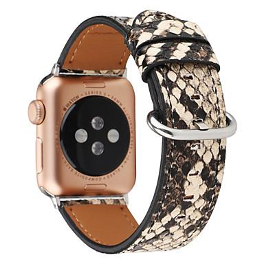 povoljno Apple Watch remeni-cool narukvicu od snježne kože za jabučni sat serije 4 / jabučni sat serije 3 / jabučni sat serije 2 jabučni sportski pojas od prirodne kože narukvica za ručni zglob