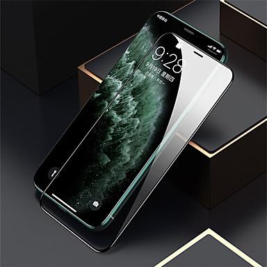 Недорогие Защитные плёнки для экрана iPhone-Защитная пленка из 2 экранов с защитой от яблок iphone11 pro max iphonex / xs xr xsmax 6 / 6s / 7/8 плюс защитная пленка на 9 градусов
