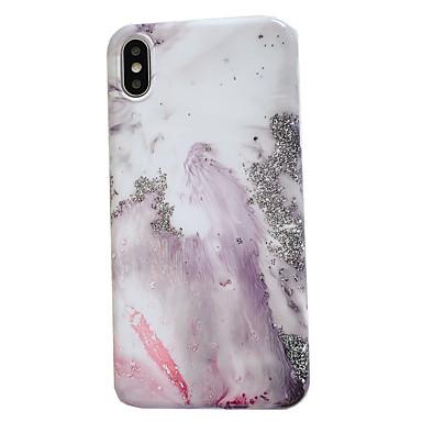 Недорогие Кейсы для iPhone 6 Plus-чехол с (hd) протектором из закаленного стекла для Apple iphone 11/11 pro / 11 pro max пыленепроницаемый / imd задняя крышка мраморное тпу для iphone 7 / 7p / 6 / 6p / xs / xr / xs max