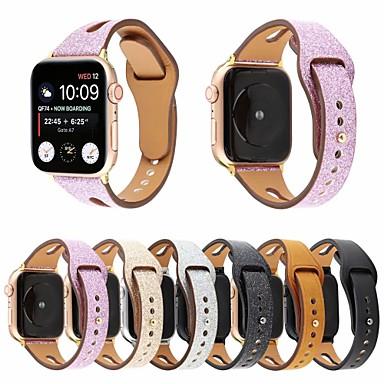 povoljno Apple Watch remeni-Pogledajte Band za Apple Watch Series 5/4/3/2/1 Apple Klasična kopča / Poslovni bend Prava koža Traka za ruku