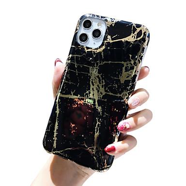Недорогие Кейсы для iPhone 6-Кейс для Назначение Apple iPhone 11 / iPhone 11 Pro / iPhone 11 Pro Max Защита от удара / Защита от пыли / Ультратонкий Кейс на заднюю панель Сияние и блеск ТПУ