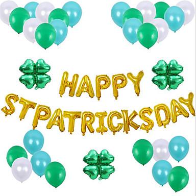 povoljno Dekoracija doma-irski st Patrick's ponos ukras zeleni balon 1 set