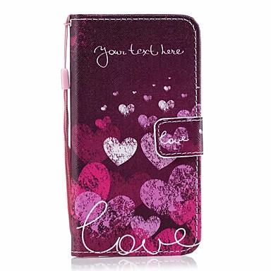 Недорогие Кейсы для iPhone 6-чехол для яблока iphone 11 / iphone 11 про макс дворцовый цветок искусственная кожа со слотом для карт откидывается вверх и вниз для iphone5 / 6/7/8 / 6p / 7p / 8p / x / xs / xr / xs mas
