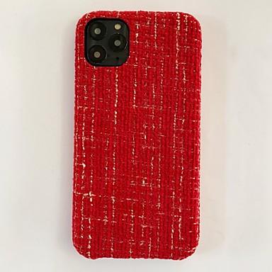 Недорогие Кейсы для iPhone-чехол для iphone 11 совместим с apple iphone11 pro max чехол осень зима теплый роскошный бампер вязаный симпатичный защитный чехол для яблока iphone 7 / iphone 8 / iphone x чехол