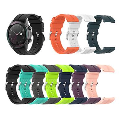 Недорогие Ремешки для часов Huawei-ремешок для часов huawei часы gt active / часы huawei gt2 46mm / часы huawei gt2 42mm huawei современная пряжка силиконовый ремешок
