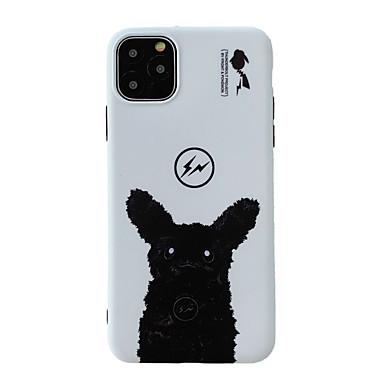Недорогие Кейсы для iPhone 7 Plus-Кейс для Назначение Apple iPhone 11 / iPhone 11 Pro / iPhone 11 Pro Max Защита от удара / Защита от пыли / IMD Кейс на заднюю панель Мультипликация ТПУ