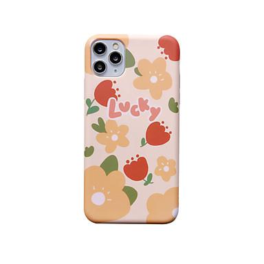 Недорогие Кейсы для iPhone 6-чехол с (hd) протектором из закаленного стекла для Apple iphone 11/11 pro / 11 pro max пылезащитный / матовый / узор с задней крышкой цветок ТПУ для iphone 7 / 7p / 6 / 6p / xs / xr / xs max