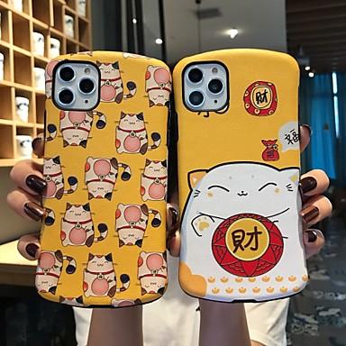 Недорогие Кейсы для iPhone 7-чехол для iphone x забавный везунчик защитная мода классная обложка кожа подростки мальчики девочки чехлы для iphone 6 / iphone 7 / iphone 11 pro