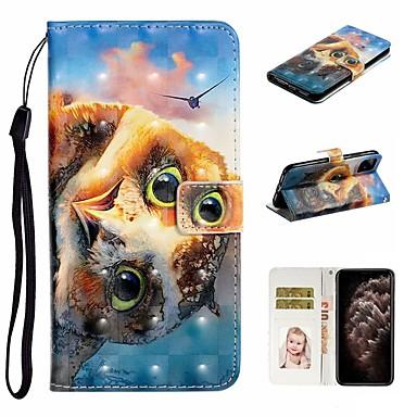 Недорогие Кейсы для iPhone X-чехол для apple iphone 11 / iphone 11 pro / iphone 11 pro max кошелек / визитница / с подставкой для всего тела чехлы из искусственной кожи для iphone xs max / xs / xr / x / 8 plus / 7/6 / 6s plus / 5