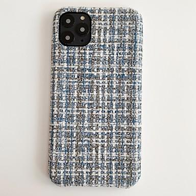 Недорогие Кейсы для iPhone 6-Кейс для Назначение Apple iPhone 11 / iPhone 11 Pro / iPhone 11 Pro Max Защита от удара / Защита от пыли Кейс на заднюю панель Плитка / Слова / выражения / Плюш текстильный / ПК
