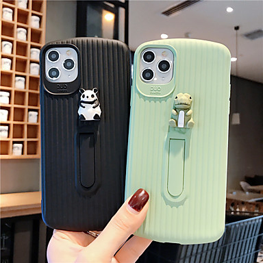 Недорогие Кейсы для iPhone 7 Plus-мягкий чехол силикагеля для iphone x мода прохладный чехол кожа подростки мальчики девочки чехлы для iphone 6 / iphone 7 / iphone 11 pro / противоударный / пылезащитный с подставкой