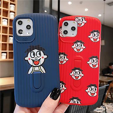 Недорогие Кейсы для iPhone 7 Plus-мягкий чехол из силикагеля для iphone x весело cartoonfashion прохладный чехол кожа подростки мальчики девочки чехлы для iphone 6 / iphone 7 / iphone 11 pro / противоударный / пылезащитный с