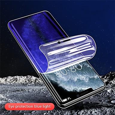 Недорогие Защитные плёнки для экрана iPhone-светло-голубая гидрогелевая пленка для iphone11 pro max анти-синий свет iphonex / xs xr xsmax ультратонкий iphone6 / 6s 7/8 plus анти-синий свет гидрогель