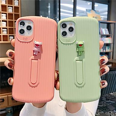 Недорогие Кейсы для iPhone X-мягкий чехол силикагеля для iphone x мода прохладный чехол кожа подростки мальчики девочки чехлы для iphone 6 / iphone 7 / iphone 11 pro / противоударный / пылезащитный с подставкой