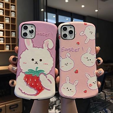 Недорогие Кейсы для iPhone 7-чехол для iphone x забавный мультфильм кролик защитная мода прохладный чехол кожа подростка девушки чехлы для iphone 6 / iphone 7 / iphone 11 pro