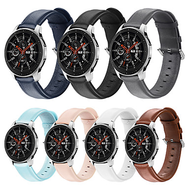 رخيصةأون أساور ساعات Huawei-20mm / 22mm huawei watch gt2 46mm / 42mm honor magicwatch 2 42mm / 46mm / huawei watch gt 2e / watch2 / watch2 pro buckle / Business band Genuine leather wrist strap
