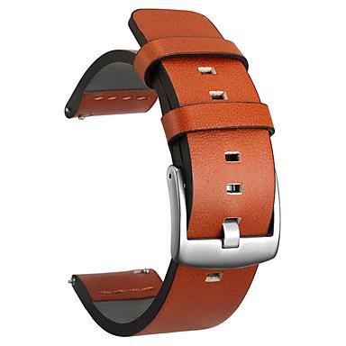 Недорогие Аксессуары для смарт-часов-22 20мм натуральная кожа для samsung ремешок для часов ремешок для amazfit для huawei galaxy часы ремешок для часов браслет