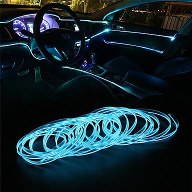 Недорогие Огни для авто-1pcs Проводное подключение Автомобиль Лампы Светодиодная лампа Украшения огней Назначение Универсальный