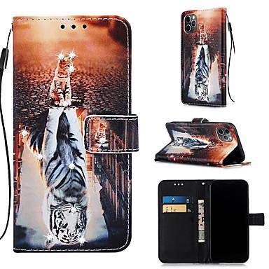 Недорогие Кейсы для iPhone 7 Plus-чехол для яблока iphone 11 / iphone 11 pro / iphone 11 pro max кошелек / держатель для карты / с подставкой для всего тела чехлы из искусственной кожи для iphone xs max xr xs x 8 плюс 7 плюс 6 плюс 8